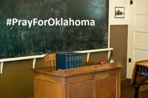 pray for oklahoma, classroom